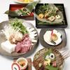 よし梅 - 料理写真:1万三千円のコースの一例