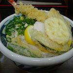 讃松庵 - 天ぶっかけ 850円