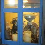 珈琲焙煎屋 ビーンズ香房 Cafe Tasse - 焙煎機