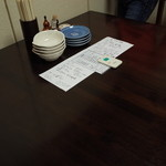 おかめ - 2階個室 テーブル・セッティング