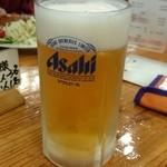 栂池山荘 - 生ビール