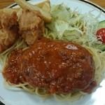 栂池山荘 - 息子用の夕食