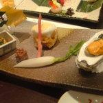 3073528 - あわび:牡蠣:アンキモ
