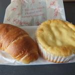 ハイジ - 料理写真:バターパン と レモンクリーム