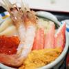 いくら亭 - 料理写真:函館大漁丼・ボタン海老スペシャル