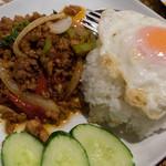 タイレストラン ブアールアン - ガイカパオラーカイ