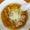 大一 - 料理写真:地鶏醤油らーめん(¥580税込み)素晴らしい風情。