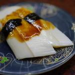 根室花まる - 150えん『本日のおすすめ北海たこ頭』2014.9