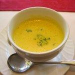 プロトンダイニング - スープ (カボチャのポタージュスープ)