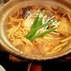 煮込みうどん 二橋 - 料理写真:粒味噌 親子1450円+きのこ三昧450円