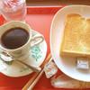 コーヒーショップ えるむ - 料理写真:トーストセット