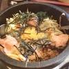 水琴茶堂 - 料理写真:明太子石焼ビビンバ