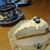 シャ・ラ・ラ - 料理写真:ブルーベリーレアチーズケーキ