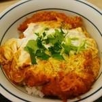 かつや - 料理写真:カツ丼(梅)¥529