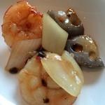 チャイナシャドー - 海老とお野菜の炒め