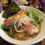 麺匠 さくら咲く - 桜醤油らぁめん(780円)