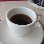 ビストロ ル ポール - 最後はホットコーヒーをいただいてこの日の素敵なランチは終了です。