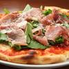 Pastorante OHANA - 料理写真:イタリア産生ハムと朝採れルッコラのピッツァです。大人気のピッツァ!