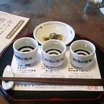 伏見夢百衆 - 利き酒セット750円