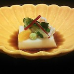 北新地 湯木 - ごま豆腐