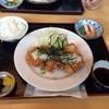 金刀比羅 うどん - 料理写真:おろしチキンカツ定食