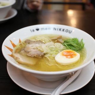 ラーメンニッコウ - 料理写真:日香麺 塩☆