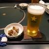 魚耕 - 料理写真:夜定食追加のビールとお通し