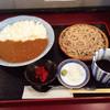 蕎麦 玄庵 - 料理写真:カレーセット850円