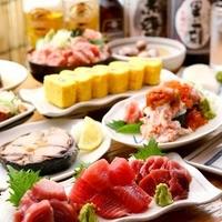 魚久のっけ寿司コース