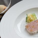 アロマクラシコ - 宮崎県産 放牧豚のパテ キャベツのマリネとマスタードを添えて【2014年9月】
