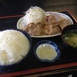 あさい食事処 - 生姜焼き定食 630円☆(第四回投稿分①)