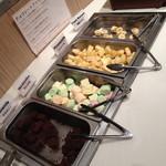 ジ オーブン アメリカン ビュッフェ - 平日ディナー(大人2,160円)の「チョコレートファウンテンの具」2014年9月