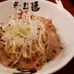 30872132 - あぶら麺680円+おろしニンニク