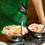 お好み焼き 福竹 - 料理写真:ふくたけ天(1,550円)、ふくたけチーズ(1,650円)