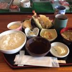 千石すし - 料理写真:天ぷら定食780円