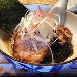 麺道 しゅはり - 冷潮らあめん@2014/09/23