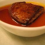 ル・メッサージュ - 料理写真:フォアグラの茶碗蒸し