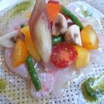 Trattoria Salice  - 長崎県産本カサゴのカルパッチョ ¥980