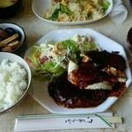レガシー - ジャンボハンバーグ定食