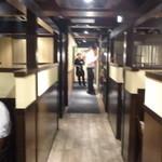 バリバリ鶏 - 店内(2F)
