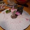 ささの - 料理写真:カワハギの造り ¥2900