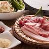 わらいや - 料理写真:<サムギョプサル>豚バラをチシャ・エゴマ等お野菜たっぷりで巻いてお召し上がり下さい。