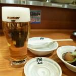 30948078 - 2014.09 最初は生ですので生ビール、550円