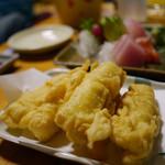 大安丸 - 魚天ぷら ¥450
