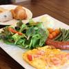 カフェ ラ レクレ - 料理写真:ソーセージスクランブル