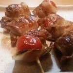 ぱたぱた家 - 豚巻きトマト