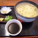 釜揚げ手打ちうどん喜多川 - 料理写真:釜あげうどん500円
