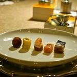 レ・ストゥディ - 前菜5種