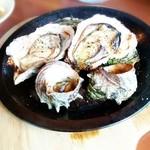 ビアガーデン 久が原キッチン - 焼き牡蠣&サザエ