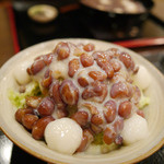 甘味処 華樓 - 料理写真:宇治金時白玉ミルク 800円